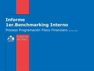 Informe 1er.Benchmarking Interno