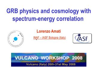 GRB physics and cosmology with spectrum-energy correlation