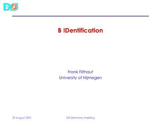 B IDentification
