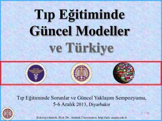 Tıp Eğitiminde Sorunlar ve Güncel Yaklaşım Sempozyumu,  5-6 Aralık  2013, Diyarbakır