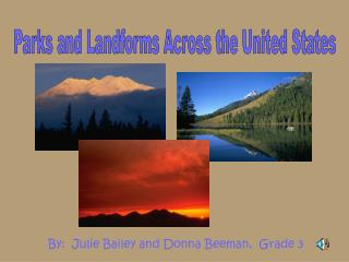 Parks and Landforms Across the United States