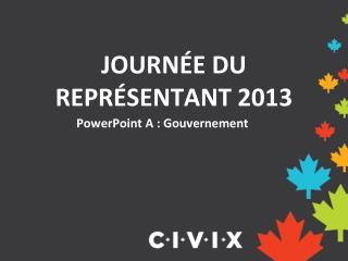 PowerPoint A : Gouvernement