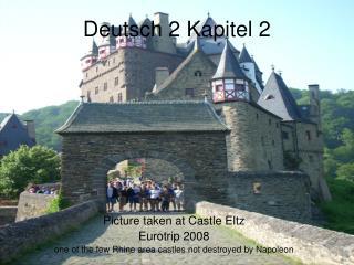 Deutsch 2 Kapitel 2