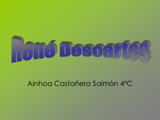 Ainhoa Casta�era Salm�n 4�C