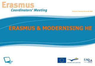 ERASMUS & MODERNISING HE