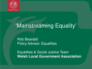 'Mainstreaming Equality'