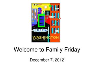 Welcome to Family Friday