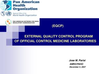 (EQCP)               EXTERNAL QUALITY CONTROL PROGRAM