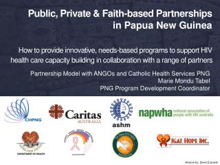 Partnership Model with ANGOs and Catholic Health Services PNG Marie Mondu Tabel