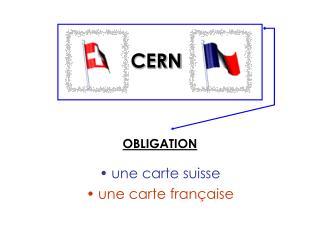 une carte suisse une carte française
