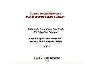 Sérgio Machado dos Santos A3ES
