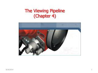 The Viewing Pipeline  ( Chapter  4)