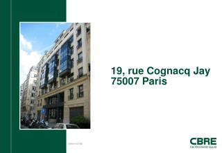 19, rue Cognacq Jay 75007 Paris