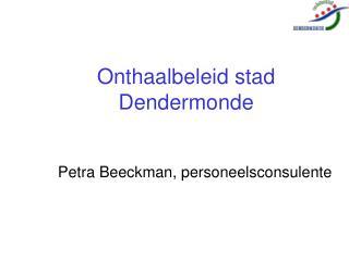 Onthaalbeleid stad Dendermonde