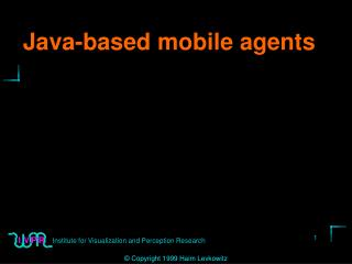 Java-based mobile agents