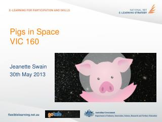 Pigs in Space  VIC 160