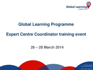 Global Learning Programme Expert Centre Coordinator training event