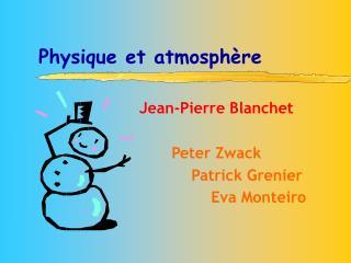 Physique et atmosphère