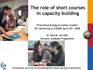 The role of short courses in capacity building