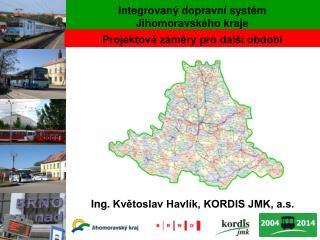 Integrovaný dopravní systém  Jihomoravského kraje
