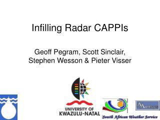 Infilling Radar CAPPIs