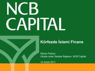 Körfezde İslami Finans