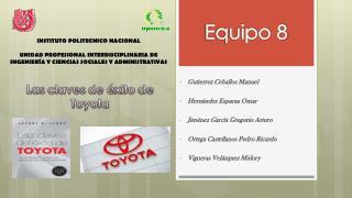 Las  claves  de � xito  de  Toyota