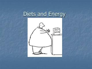 Diets and Energy