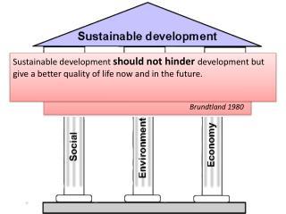 Different interpretations of sustainable development