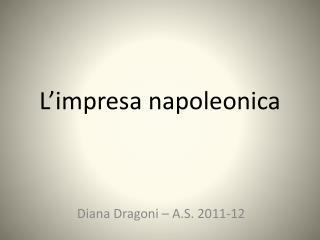 L'impresa  napoleonica
