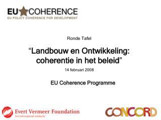 EU Coherence Programme
