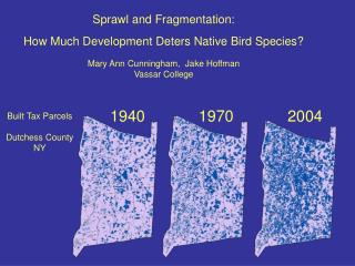 Sprawl and Fragmentation: