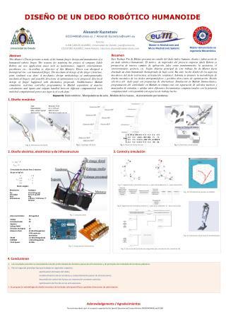 Máster Universitario en Ingeniería Mecatrónica