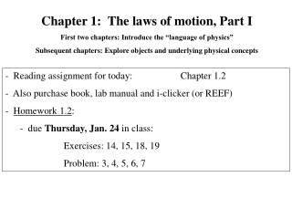 Aim: How can we describe Newton s 1st Law of Motion