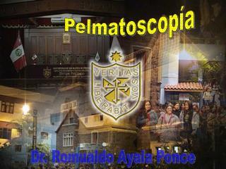 Dr. Romualdo Ayala Ponce
