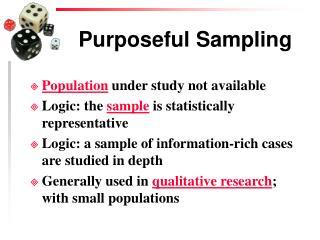 Purposeful Sampling