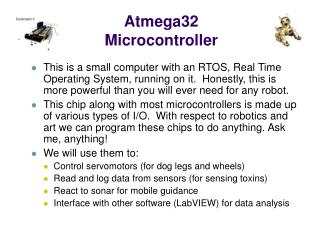 Atmega32 Microcontroller