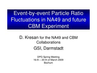 Event-by-event Particle Ratio Fluctuations in NA49 and future CBM Experiment