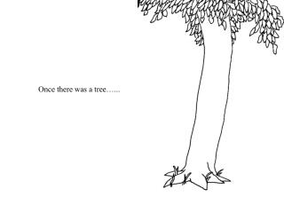 Once there was a tree�...