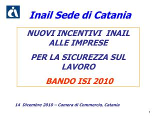 Inail Sede di Catania