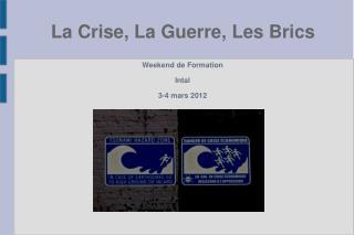 Weekend de Formation Intal 3-4 mars 2012