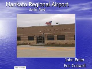Mankato Regional Airport Sohler Field