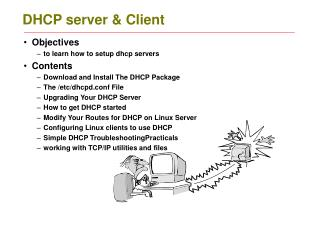DHCP server & Client