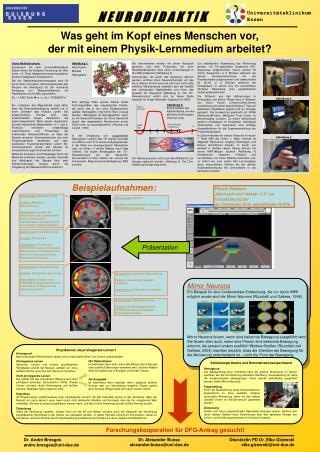 Was geht im Kopf eines Menschen vor, der mit einem Physik-Lernmedium arbeitet?