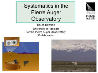 Systematics in the Pierre Auger Observatory