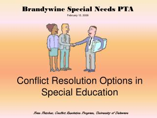 Conflict Resolution Options in Special Education