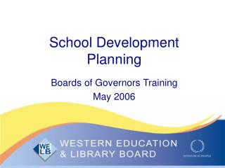 School Development Planning