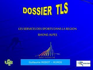 LES SERVICES DES SPORTS DANS LA REGION  RHONE-ALPES