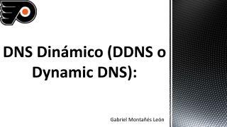 DNS  Dinámico  (DDNS o Dynamic DNS):