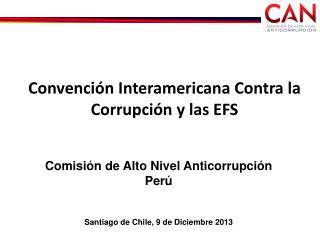 Convención Interamericana Contra la Corrupción y las EFS